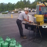 On-site Cylinder Service